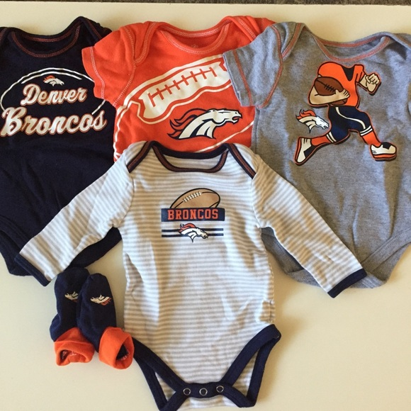 Football-NFL Denver Broncos Official NFL Apparel Infant Toddler Size T-Shirt New with Tags